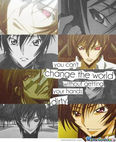 Lelouch Had It Right...