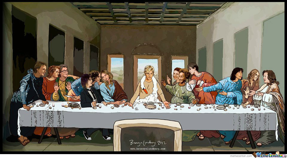 lesbian last supper_o_1064949 lesbian last supper by versalina meme center