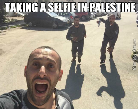 Let's Run Away From Idf, But First Let Me Take A Selfie