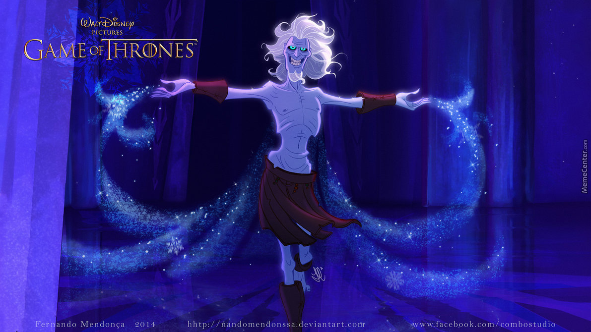 Let It Go White Walkers Version By Recyclebin Meme Center