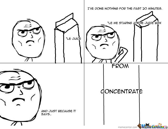 Let's Concentrate