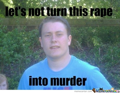 Lets Not Turn This Rape...