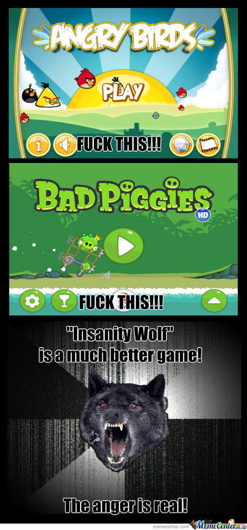 Lets Play Insanity Wolf