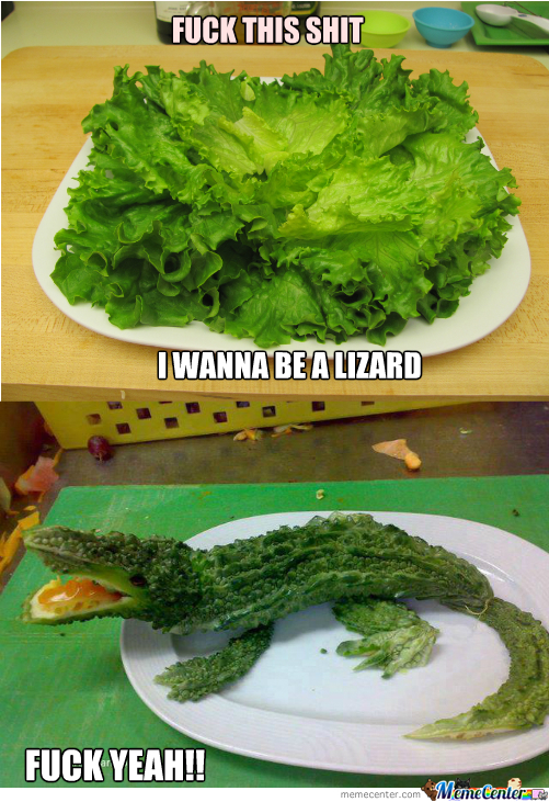 Lettuce To Lizard