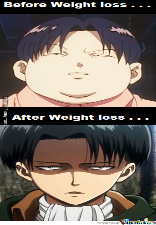 Levi Lost Weight