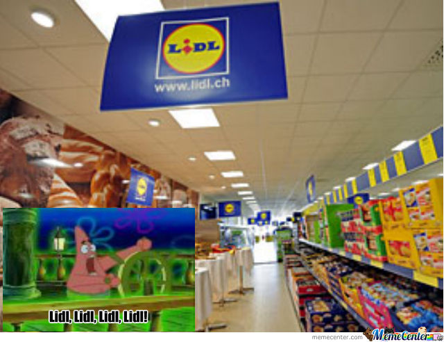 lidl best store in germany ever by ass burgers meme. Black Bedroom Furniture Sets. Home Design Ideas