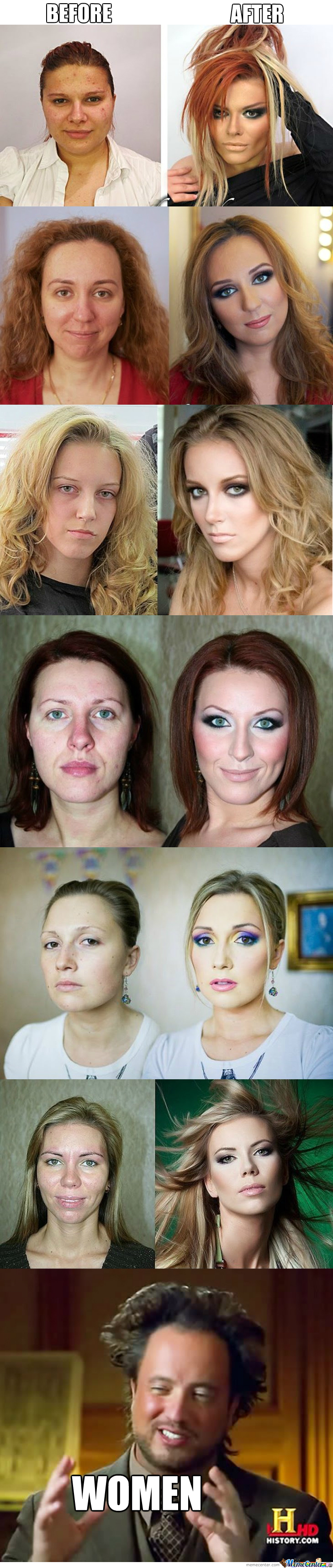 Lies Of Makeup