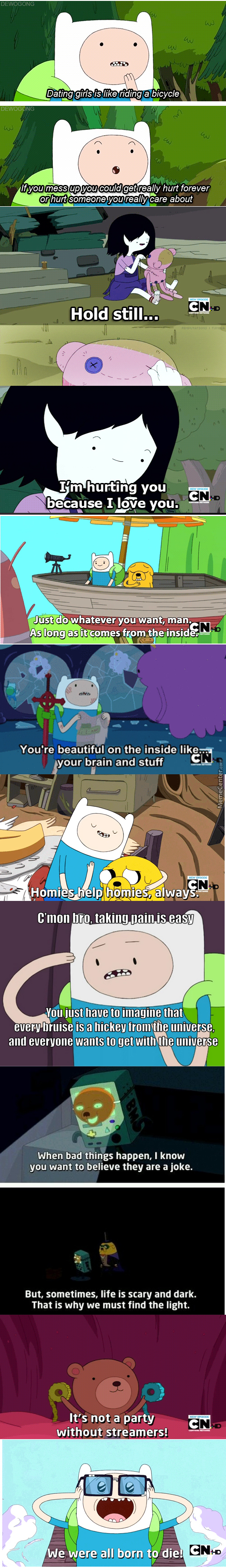 Life Lessons From Adventure Time