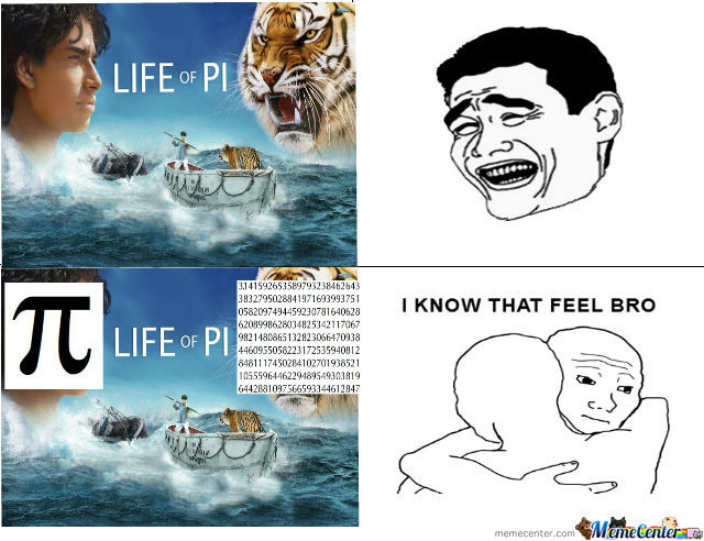 Funny Meme Of Life : Life of pi trolled by pawan714 meme center