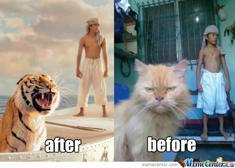 Funny Meme Of Life : Life of pi by bertmie meme center