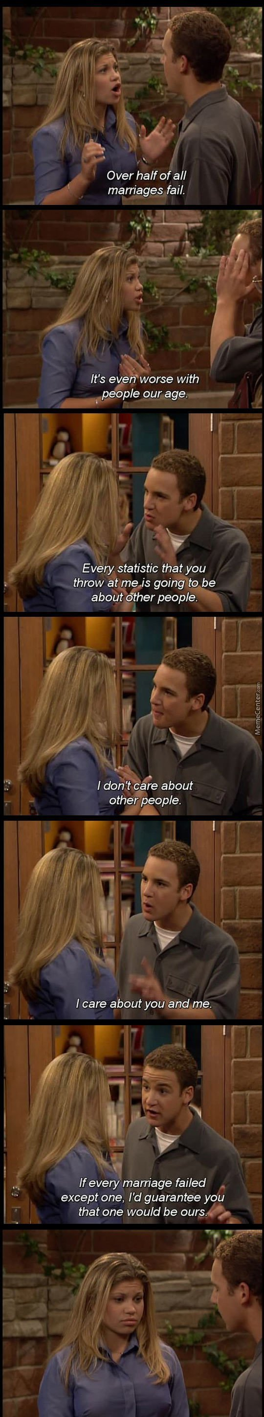 Like A Boss( Scene From Boy Meets World)