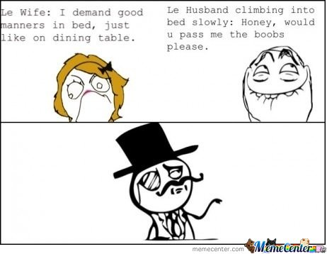 Like A Sir In Bed