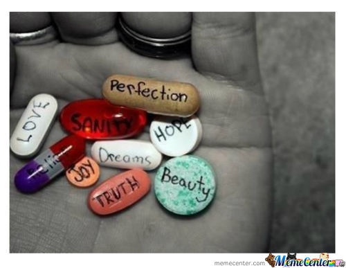 Like If You Wish These Pills Were Real