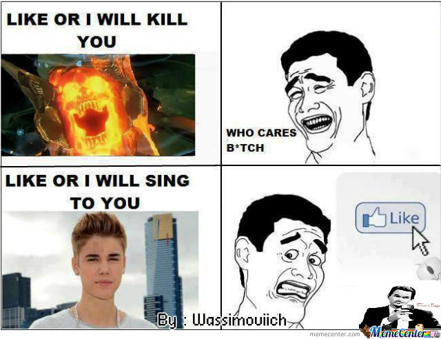 Like Or I Will Sing To You