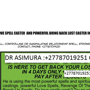 Limpopo-Love Spell Caster Same Day Results by lovespell