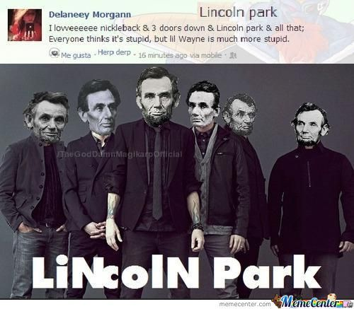 Lincoln Park Is My Favorite Band