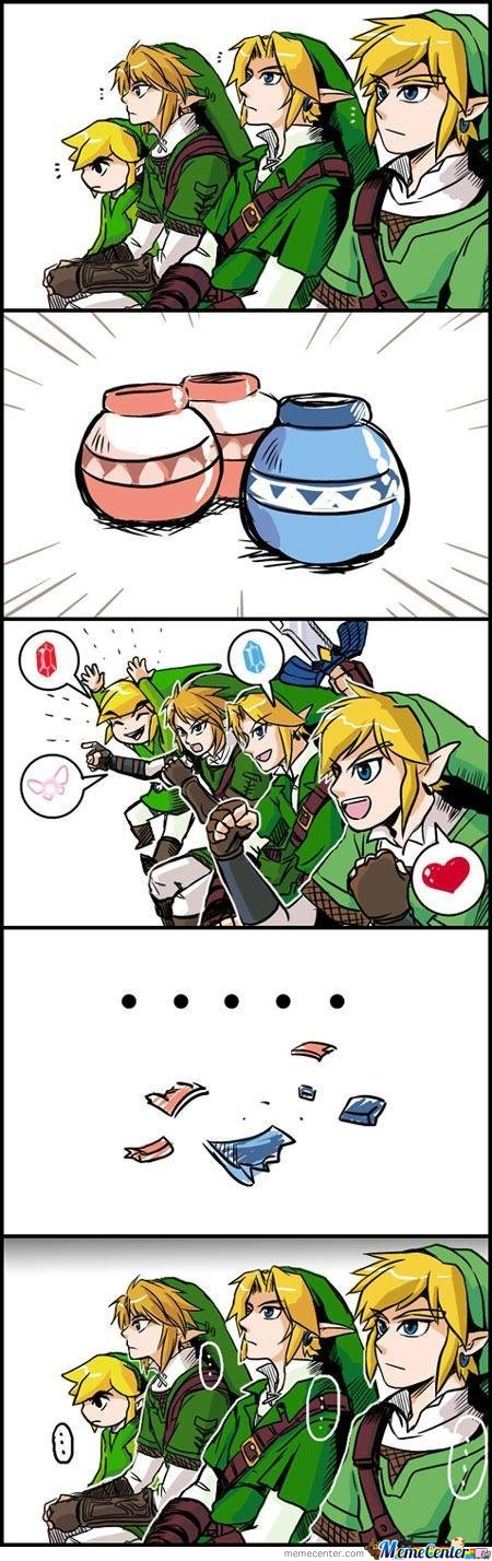 Link - Boy Reactions