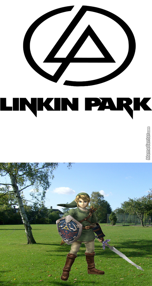 Link In Park! Get It? No? Ok...