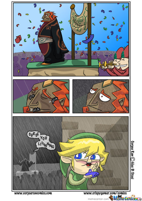 Link Is A Dick