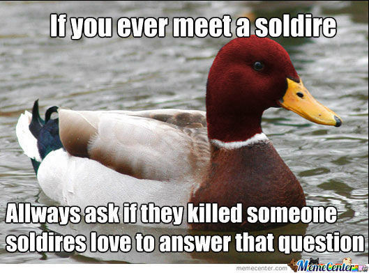 Listen To The Duck's Advice,its Good