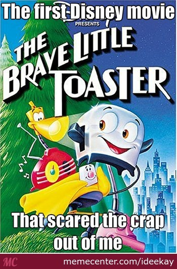 Literally... I Love This Movie, But It Still Terrifies Me To This Day.