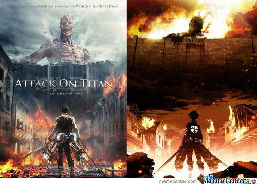 """Live Action """"attack On Titan"""": Want Or !!!want!!!"""