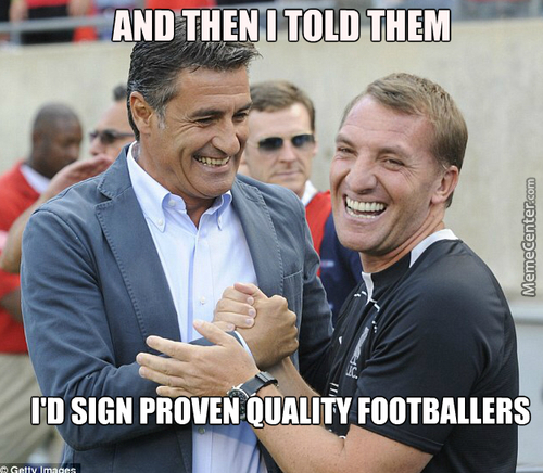 Liverpool Fc Manager... The Troll.