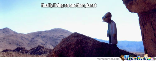 Living On Another Planet