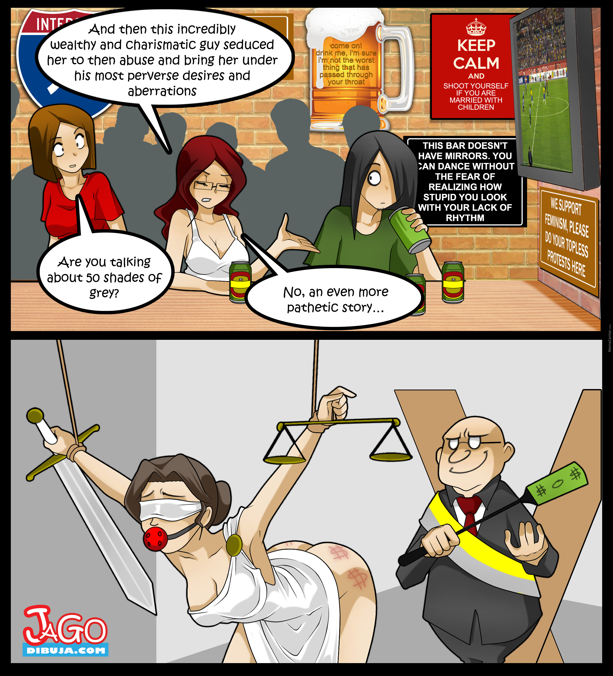 Living With Hipstergirl And Gamergirl 158 By Jagodibuja Meme Center