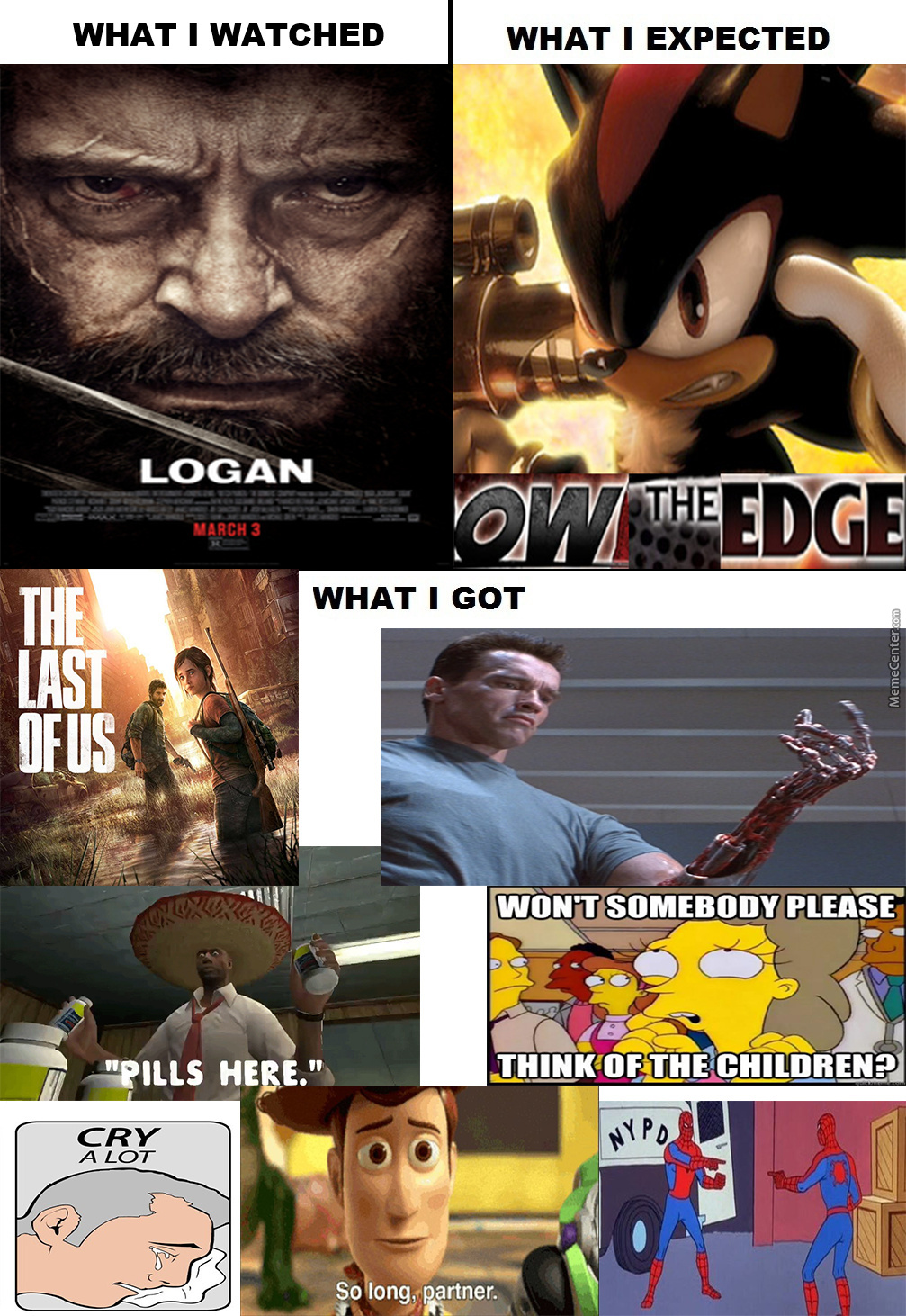Logan Is Awesome And Depressing Af, Ngl