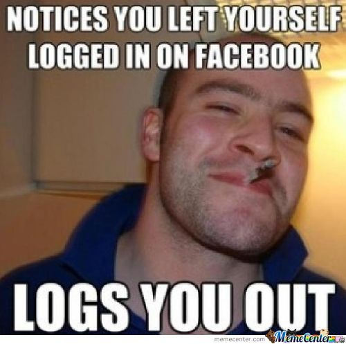 Logs You Out....