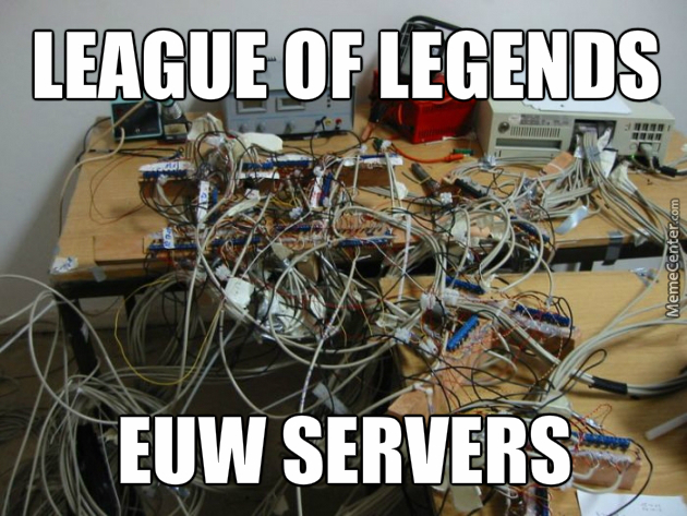 Lol Euw Servers by rpgkonijn - Meme Center