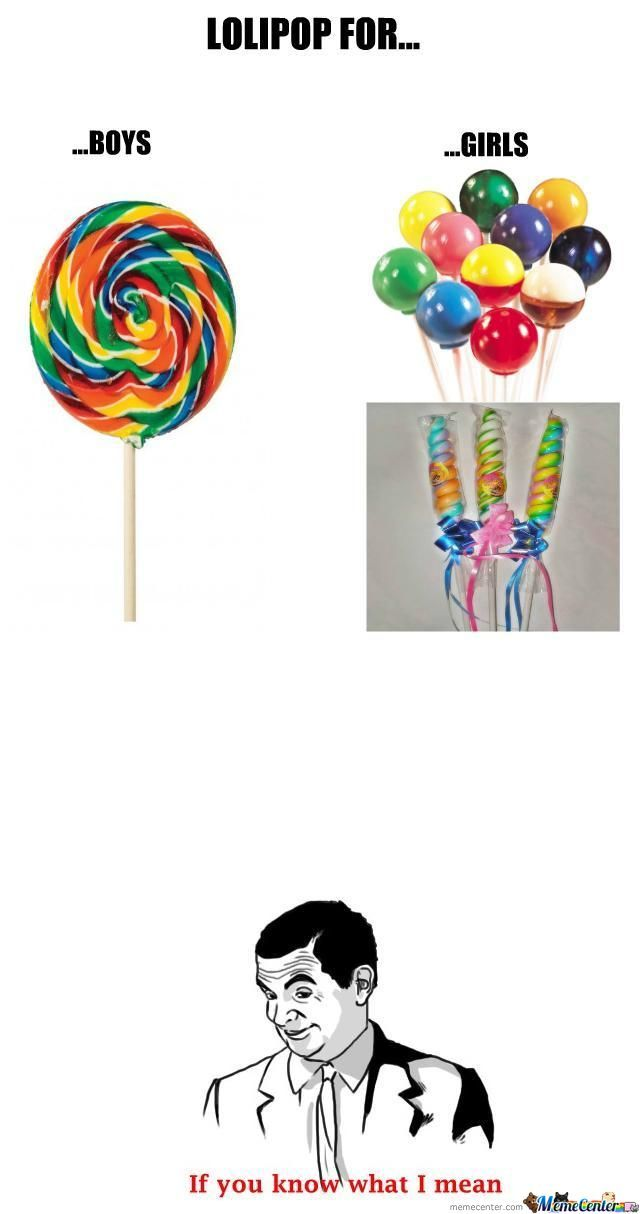 Lolipop For Gender
