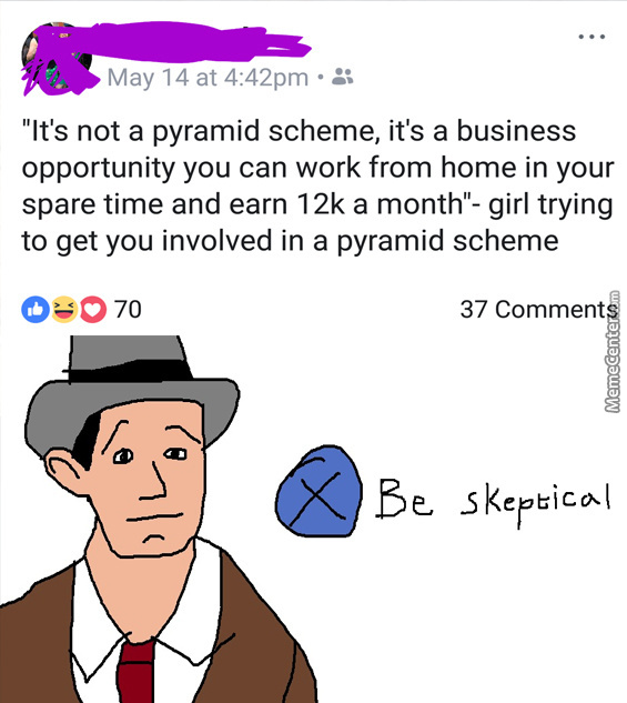 Look At All The Money You Can Earn! (Doesn't Mention What
