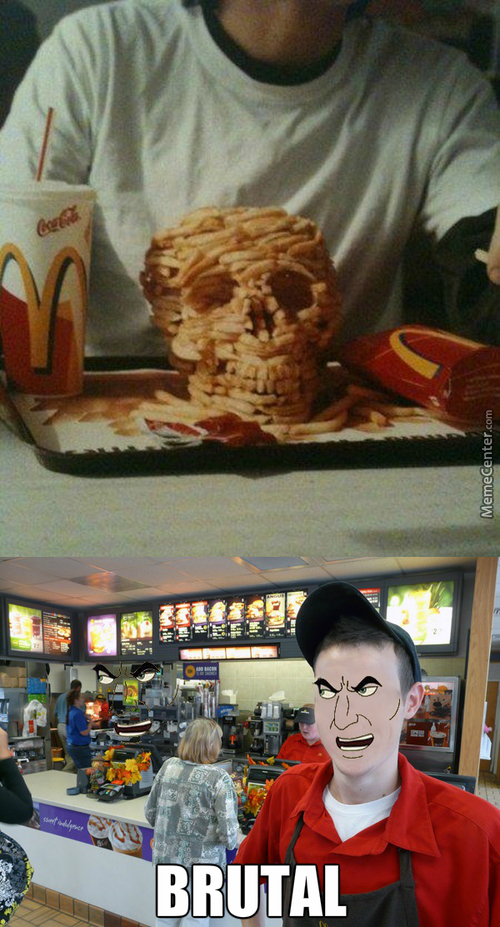 Looks Like You Ordered The Death Metal Meal