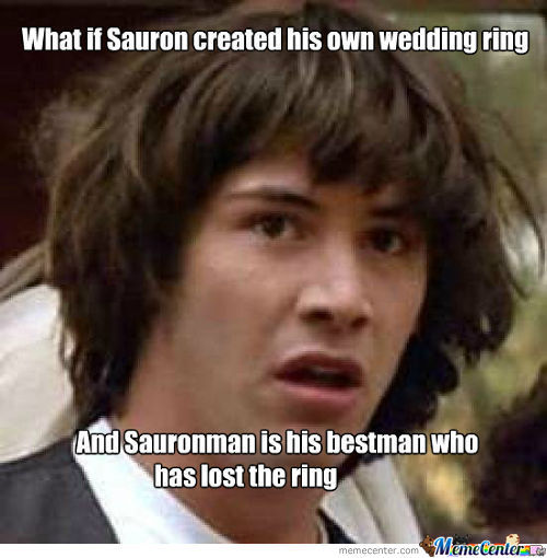 Lord Of The Rings Conspiracy?