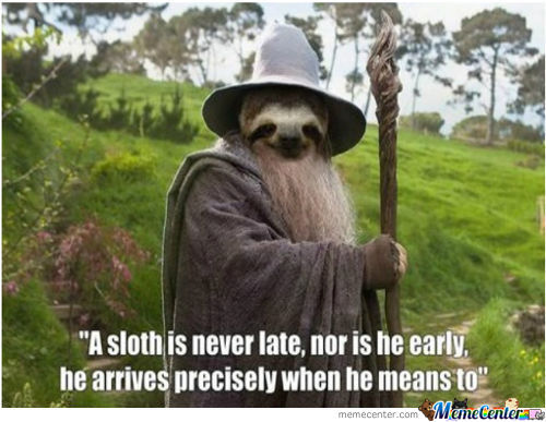 Lord Of The Sloths