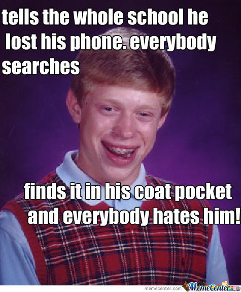 Lost His Phone