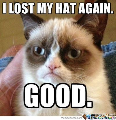 Lost My Hat Again