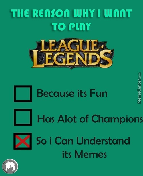 Lot Of Users Are Making League Of Legends Memes Lately