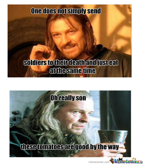lotr eating_c_155062 lotr memes best collection of funny lotr pictures