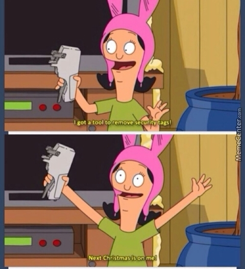 Louise Belcher Ismy Spirit Animal