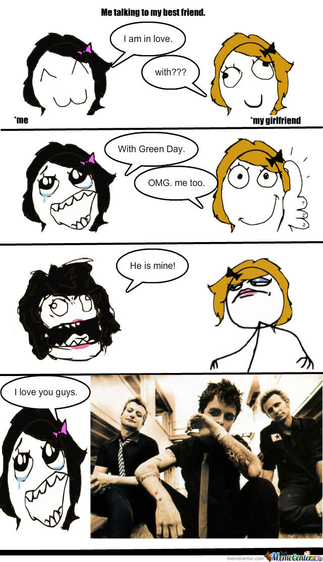 Love For Green Day