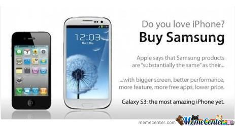 Love Iphone? Buy Samsung!!