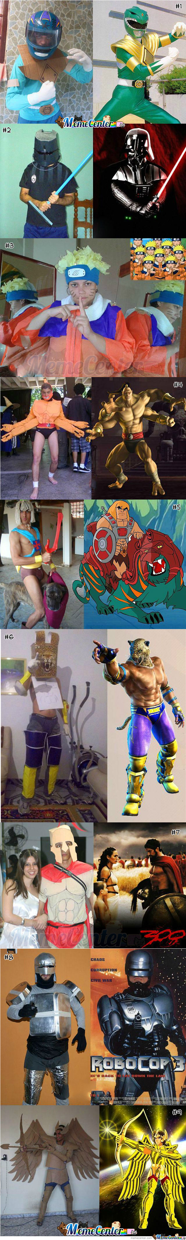 Low Budget, Creative Cosplay : Part 1