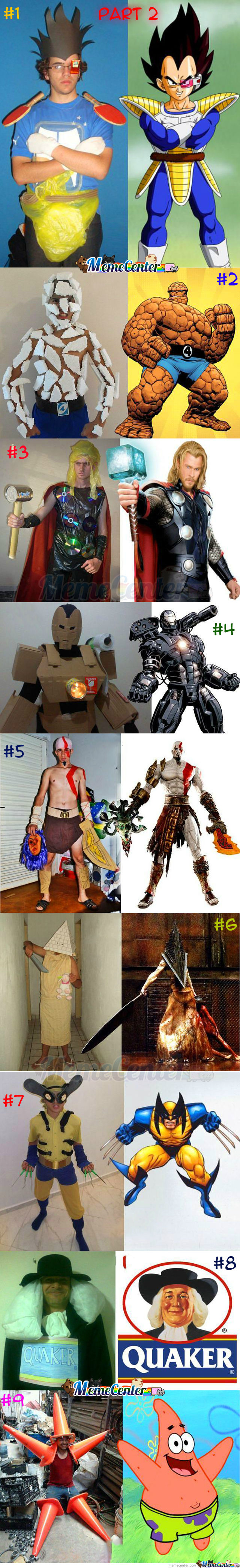 Low Budget Creative Cosplay : Part 2