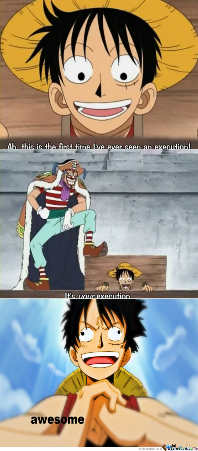 Luffy Just Being Luffy