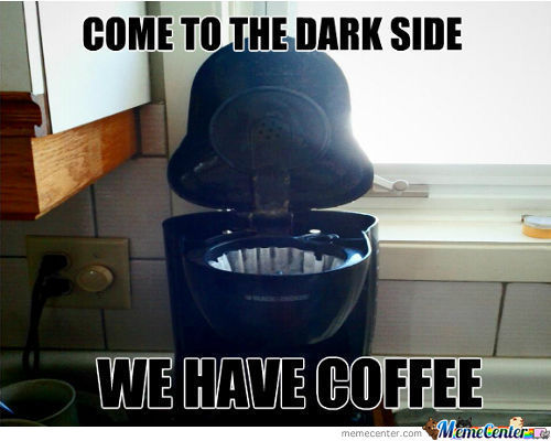 Luke, I Am Your Coffee Maker