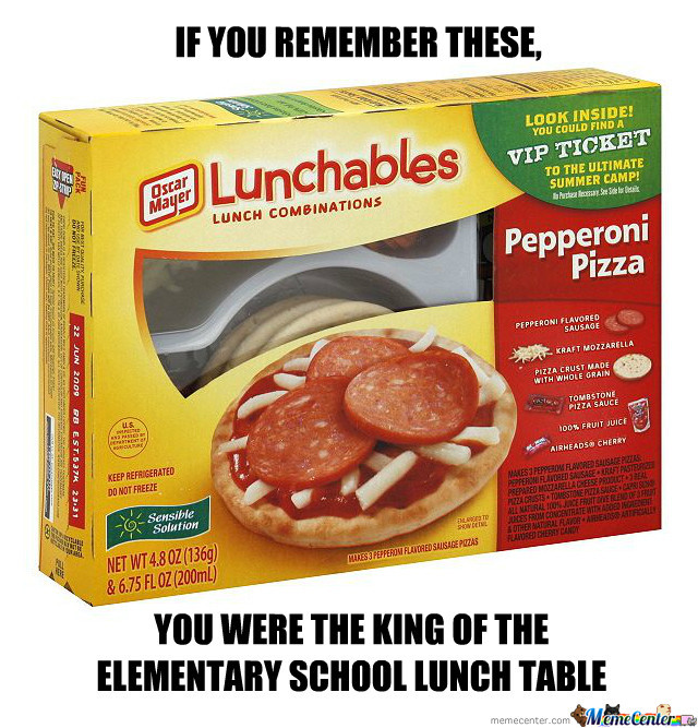 Lunchables By Barca33 Meme Center