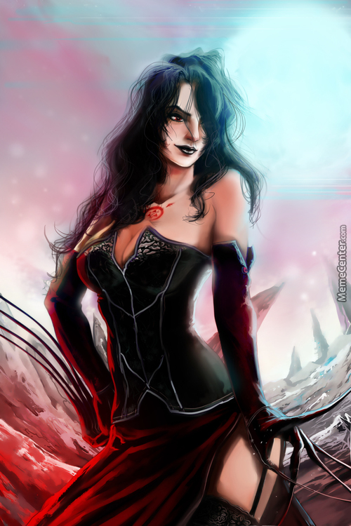 Lust From Fullmetal Alchemist (Digital Painting)